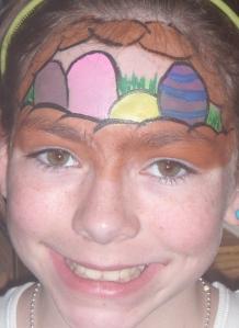 Easter Basket Face Paint