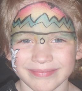 Easter Egg Face Paint